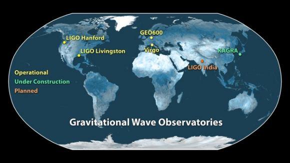 LIGO引力波探测器刚刚升级 将于4月1日再次开始寻找引力波
